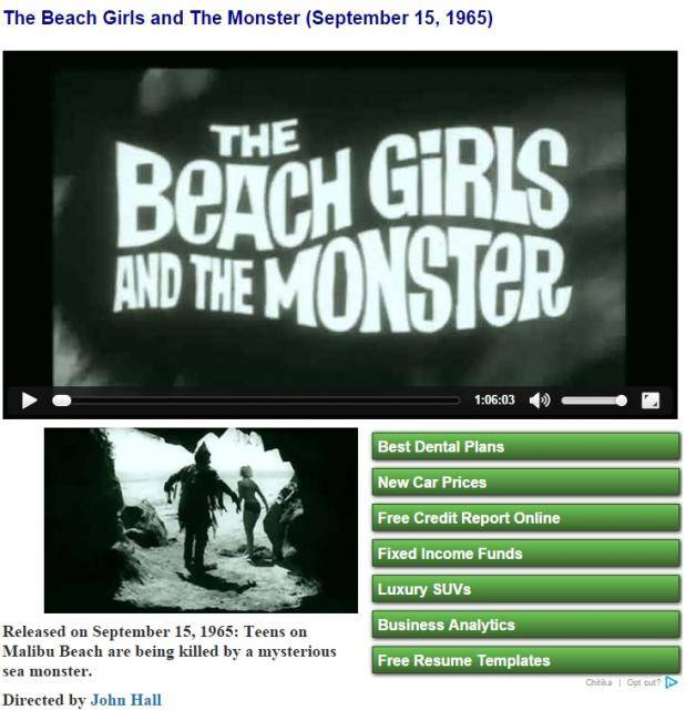 The Beach Girls and The Monster (1965) BeachGirlsampMonster
