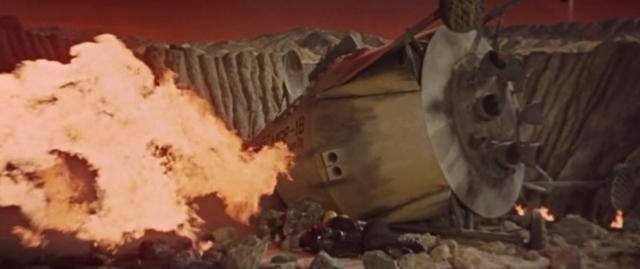 Robinson Crusoe on Mars (1964) RobinsonCronMarsAmazVideo4