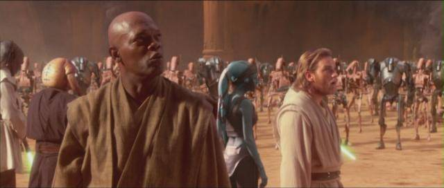 Attack of the Clones (2002) a.k.a.Star Wars Episode II Star-Wars-Attack-of-the-Clones-mace-windu