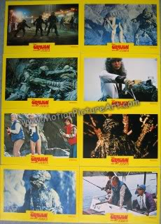 Humanoids From the Deep (1980) HumanoidsFromTheDeepLobbyCardSet