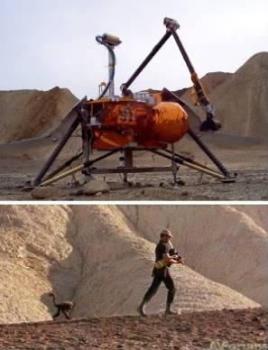 Robinson Crusoe on Mars (1964) Robinsoecronmars11