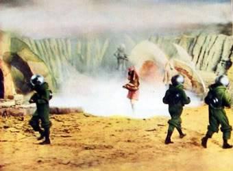 Robinson Crusoe on Mars (1964) Robinsoecronmars2