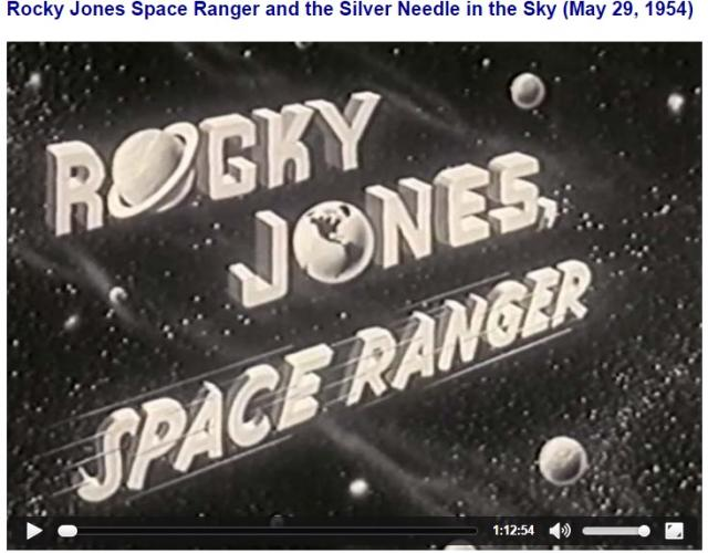 Rocky Jones Space Ranger and the Silver Needle in the Sky (1954) RockyJones