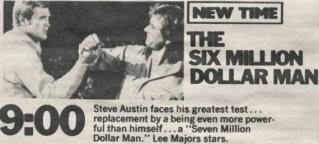 episode #18 - The Seven Million Dollar Man SixMillionDollarManTVAd2