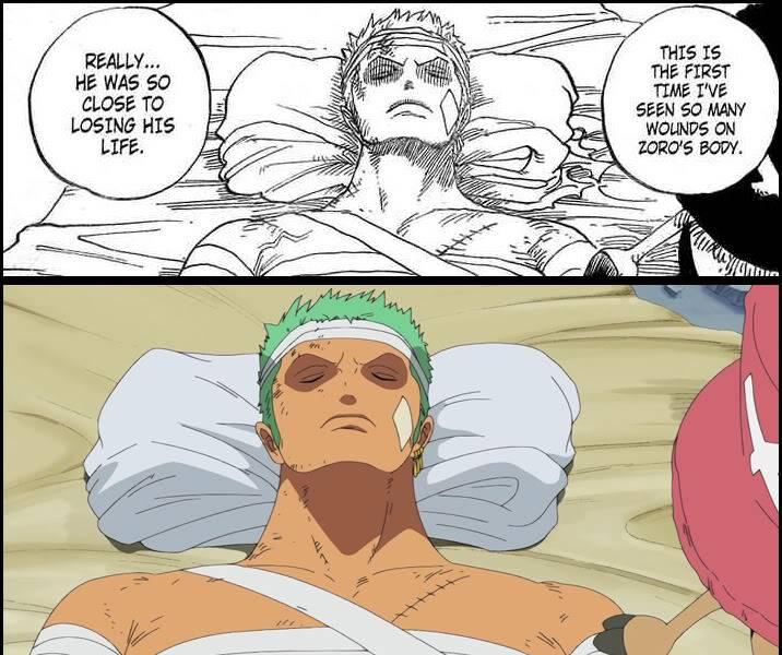 Anime de One Piece Zoro