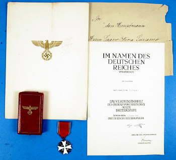 Orden meritoria del Águila Alemana Docuconf