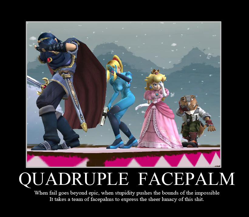 Jokes QuadFacepalm