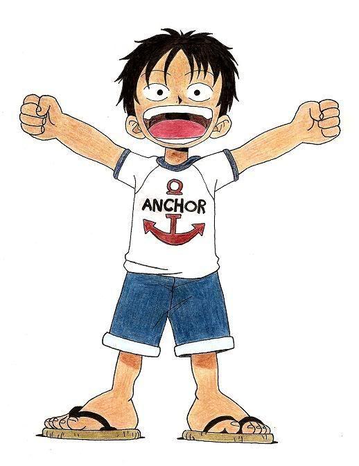 Mis fanartsssss :D - Página 3 Luffy