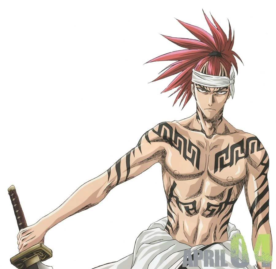 Mirar una hoja de personaje --renji-Abarai--
