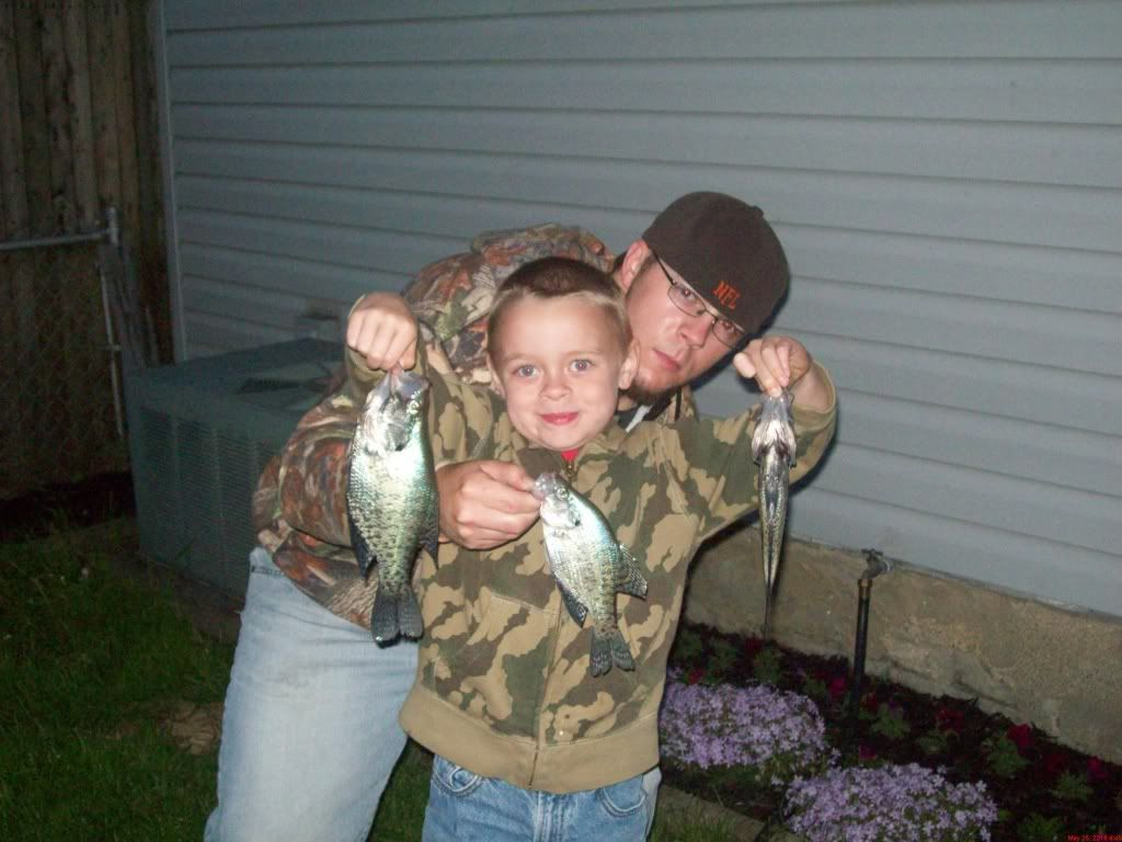 My sons first crappie Lotsofpics391