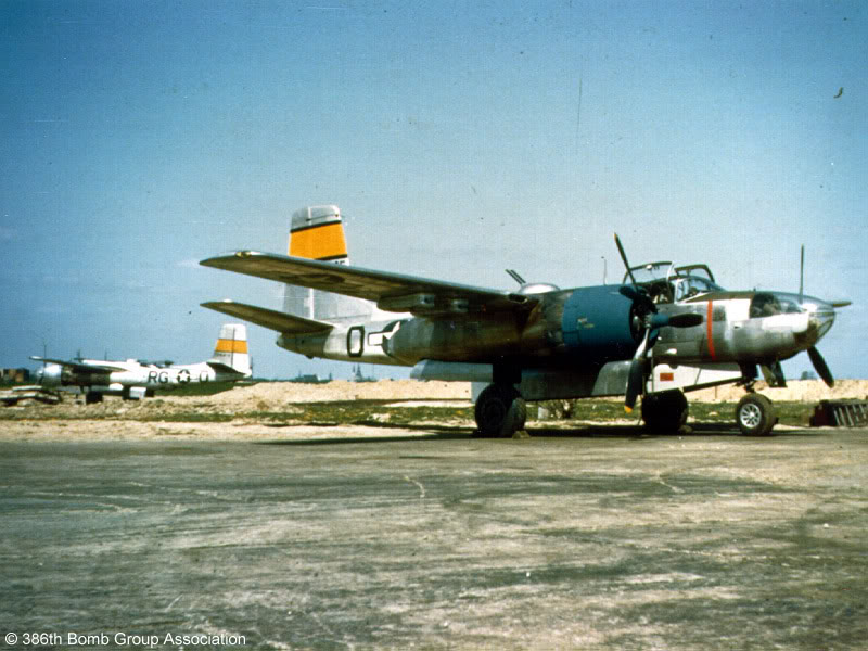 Actual WWII aircraft pictures - ALLIES A-26InvaderBeaumontSur-OiseFrancein