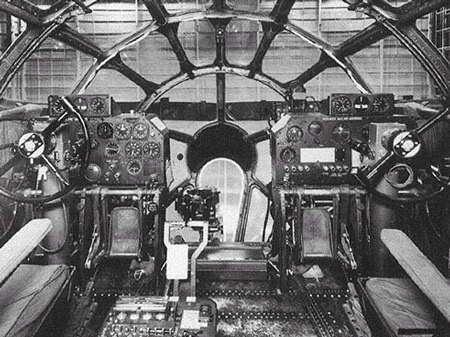 Actual WWII aircraft pictures - ALLIES B-29_cockpit_450