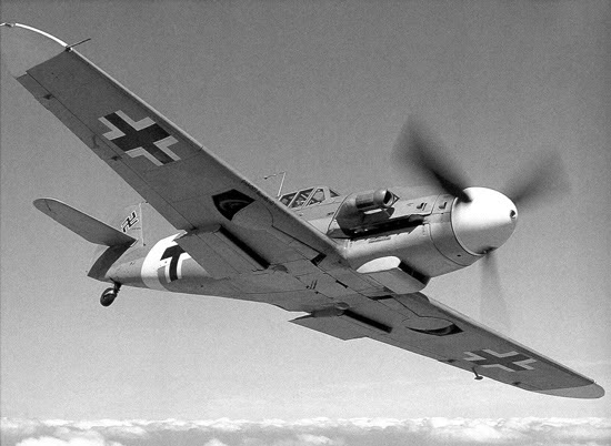 Actual WWII aircraft pictures - AXIS BF_109_NB_550
