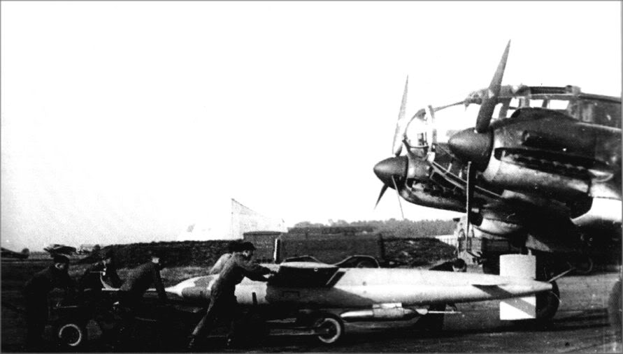 Actual WWII aircraft pictures - AXIS BV143AerialTorpedo1