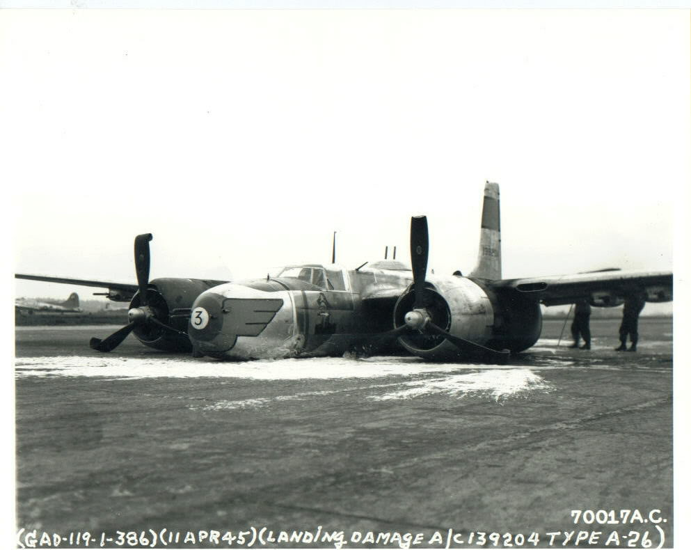 Actual WWII aircraft pictures - ALLIES BelievedtobeatA-92StTrondAFBelgium-