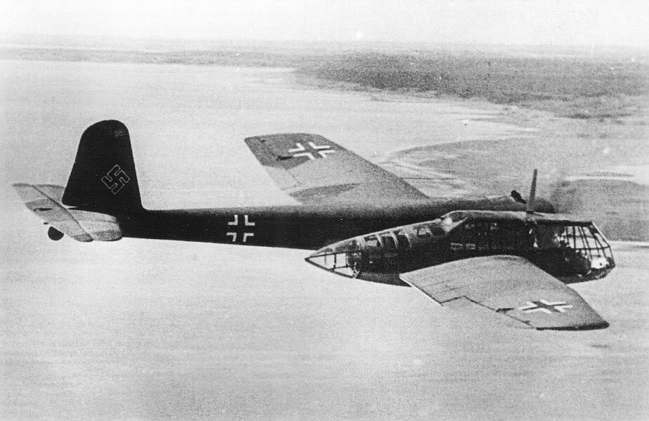 Actual WWII aircraft pictures - AXIS BlomVossBV141