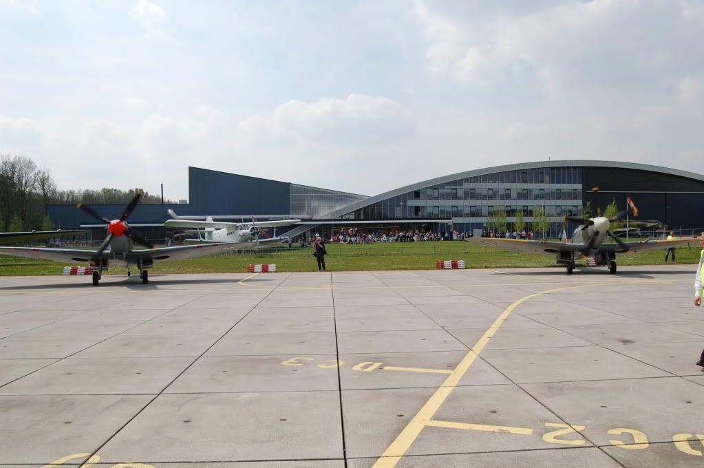 Spitfires at the Aviodrome, Lelystad (The Netherlands) 2008 DSC_0451