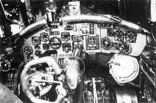 Actual WWII aircraft pictures - AXIS Do17_cockpit_550