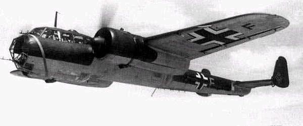 Actual WWII aircraft pictures - AXIS Do17_infl_600