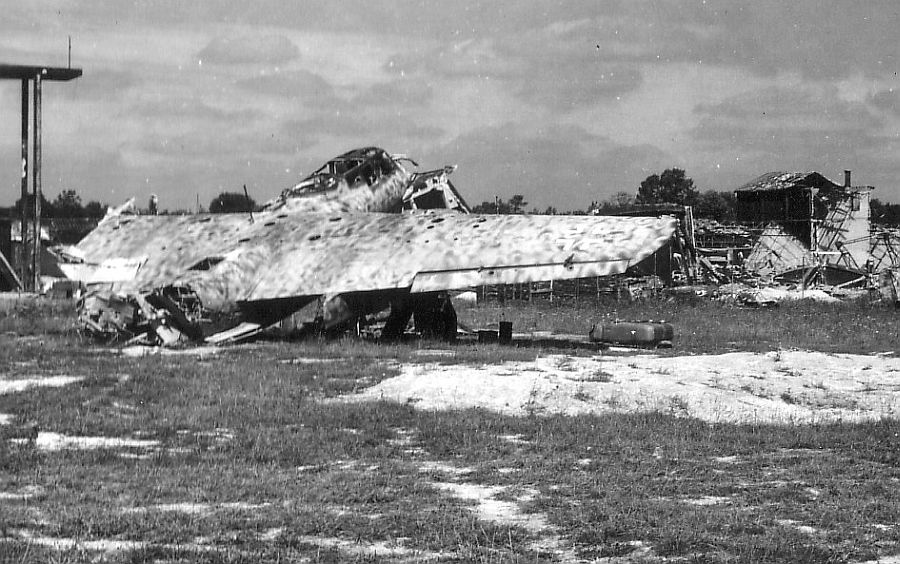 Actual WWII aircraft pictures - AXIS Do217wreck