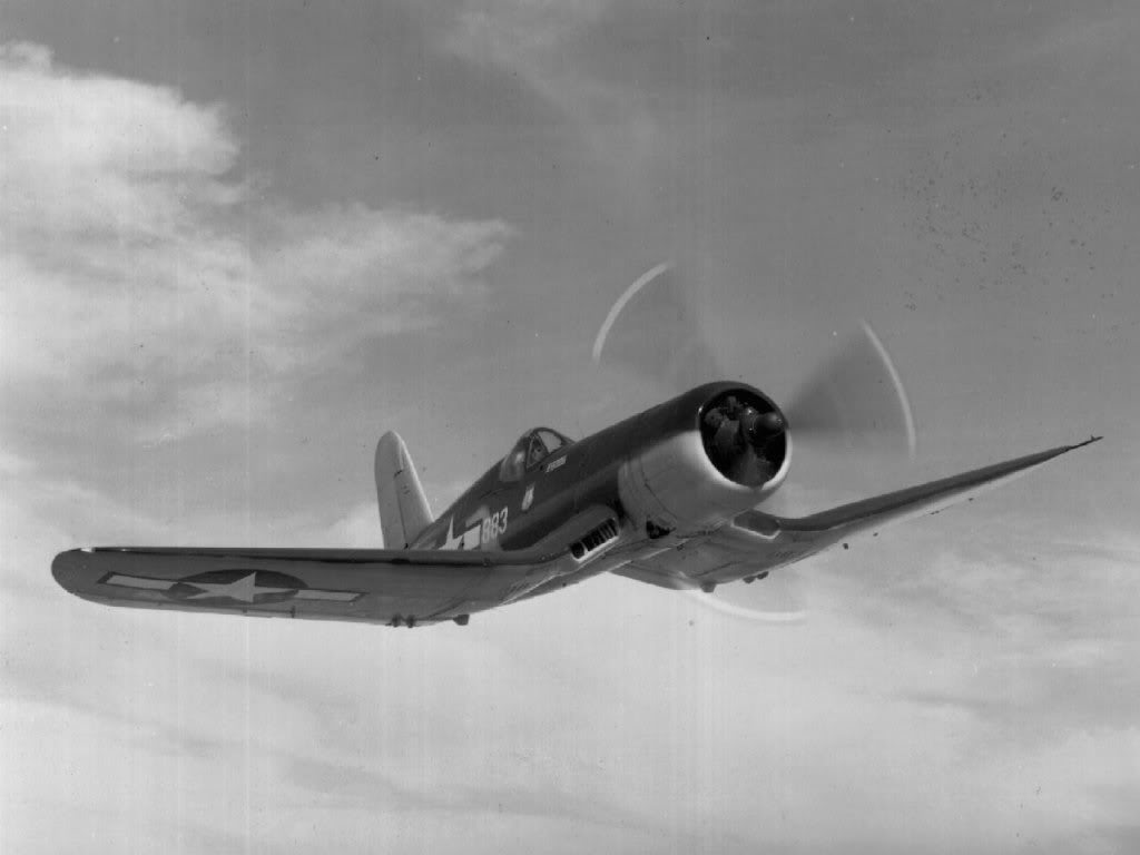 Actual WWII aircraft pictures - ALLIES F4U