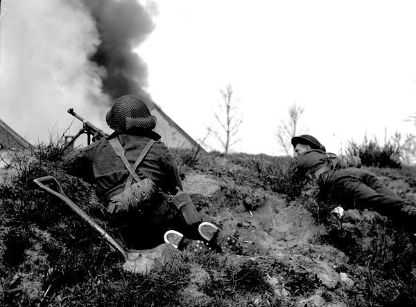 The liberation of The Netherlands InfantrymenofTheSouthSaskatchewanRe