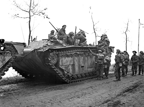 The liberation of The Netherlands InfantrymenoftheNorthShoreRegimentc