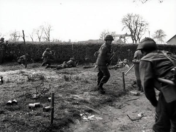 The liberation of The Netherlands InfantryoftheSouthSaskatchewanRegim