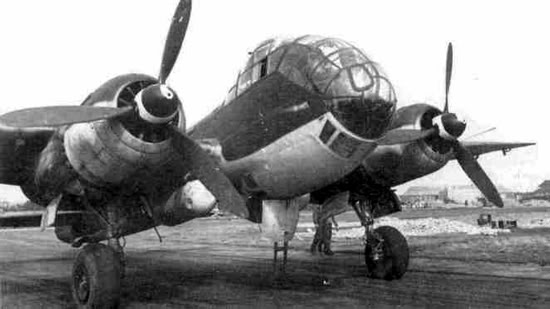 Actual WWII aircraft pictures - AXIS Ju188_gr_tq