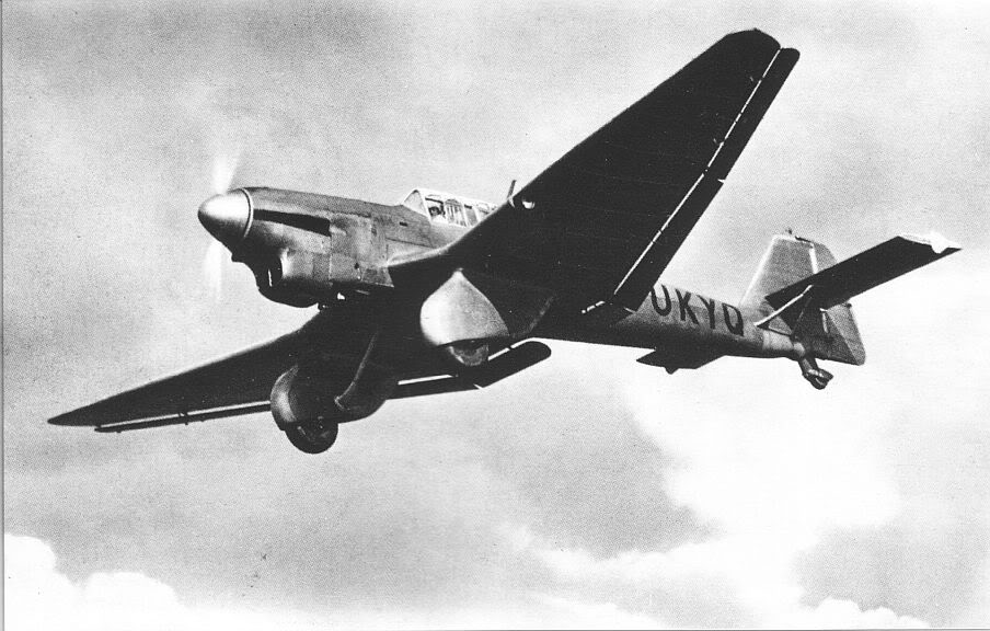 Actual WWII aircraft pictures - AXIS Ju87thirdprototype