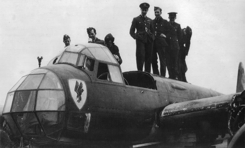 Actual WWII aircraft pictures - AXIS Ju88AofStabIII-KG30-inshallowwatero