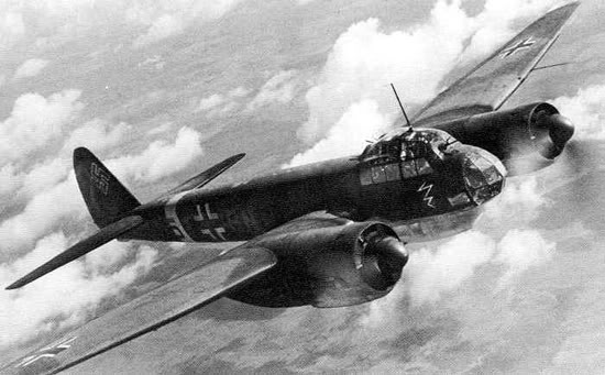 Actual WWII aircraft pictures - AXIS Ju88_infl_550