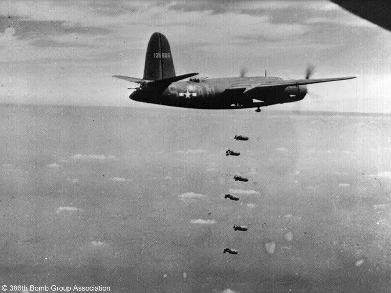 Actual WWII aircraft pictures - ALLIES RATPOISONofthe553rdBombSquadronrele
