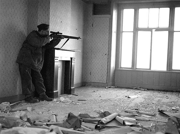 The liberation of The Netherlands SniperArthurGodinoftheRegimentdelaC