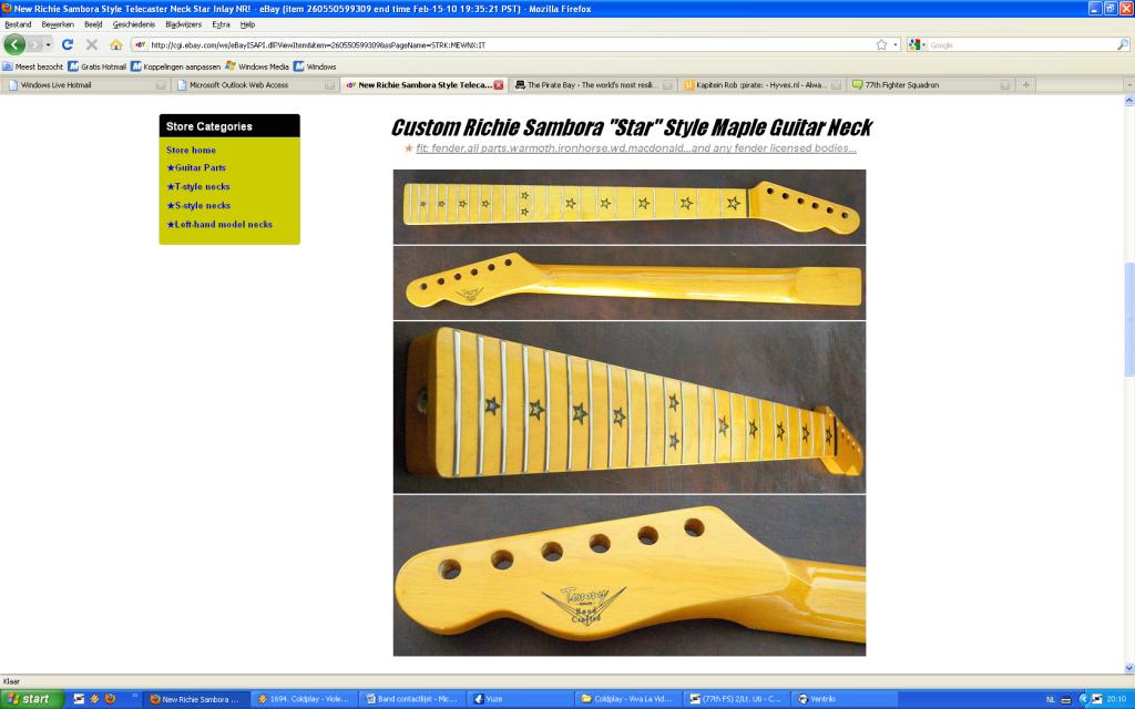 Guitar Project #2 Teleneck