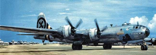 Actual WWII aircraft pictures - ALLIES B29_gr_color_650