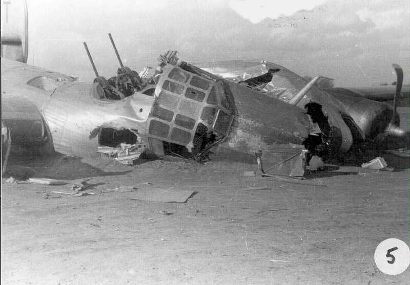 Actual WWII aircraft pictures - ALLIES Blaneycrash5