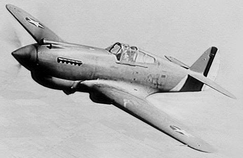 Actual WWII aircraft pictures - ALLIES P-40_warhawk_turn