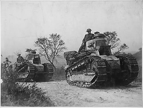 Operation Fall Gelb, Attack on Holland 10th may 1940 Renault-ft-17-tank