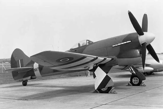 Actual WWII aircraft pictures - ALLIES Tempest_ground_mid