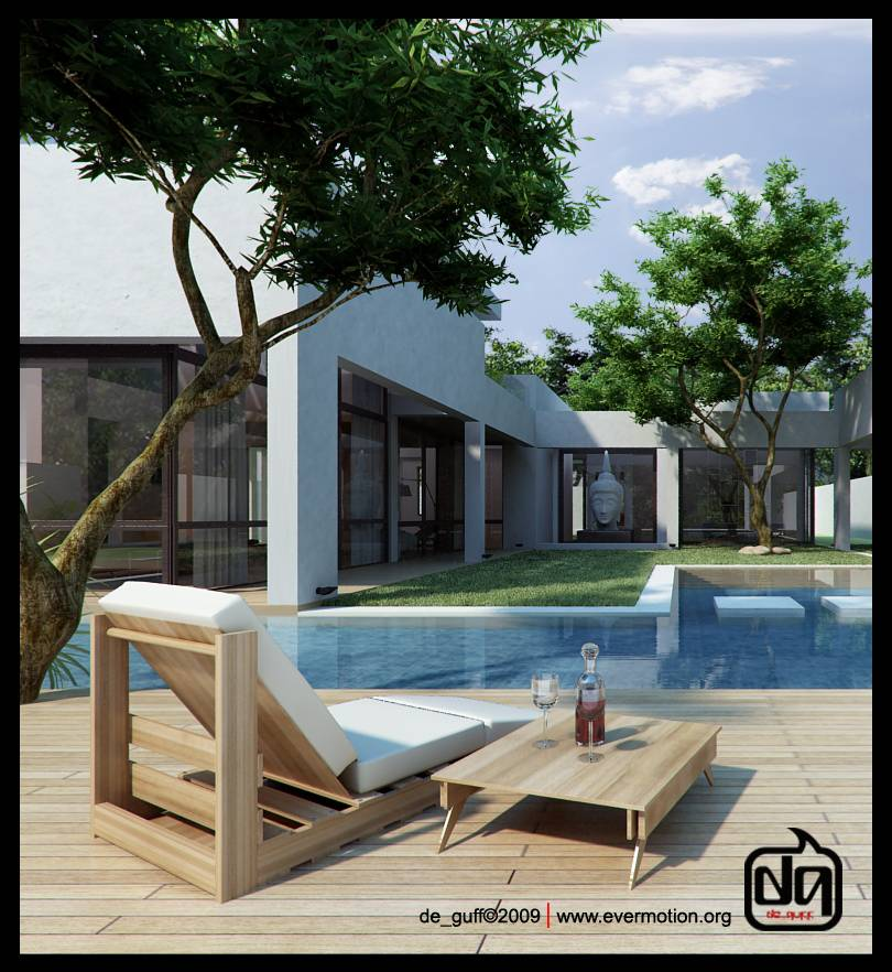 DE_GUFF: POOL HOUSE, CONCEPTUAL Ever-pool-day