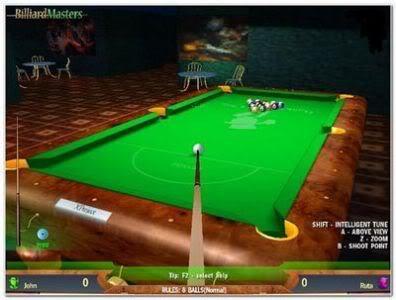 أحدث لعبة بلياردو لعام 2009 Cue Club Billiard