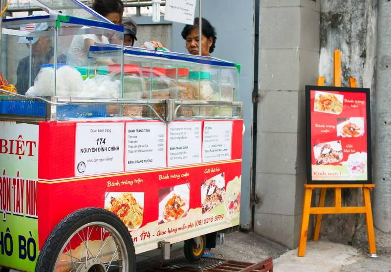 [Review] Quán 174 - bánh tráng trộn, ăn vặt ngon mà rẻ tại Phú Nhuận  012