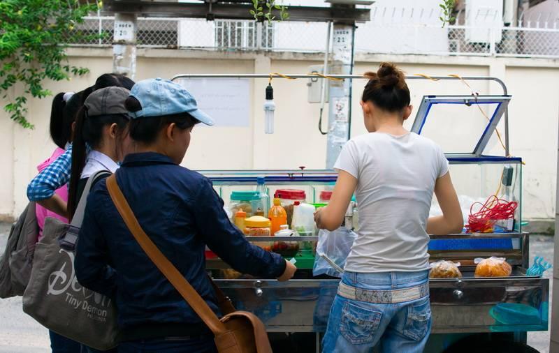 [Review] Quán 174 - bánh tráng trộn, ăn vặt ngon mà rẻ tại Phú Nhuận  016