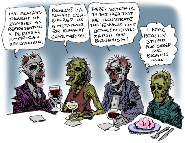 A musical message from our zombie friends Braainz