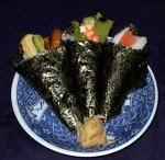 Que es sushi? y tipos de sushi Temaki