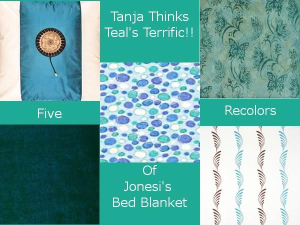 Tanja Thinks Teal's Terrific!!!-Part 2 D4581e06