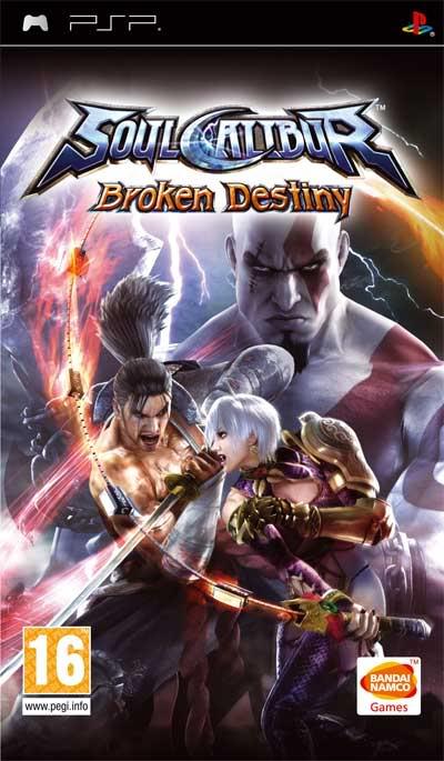 [PSP]Soul Calibur Broken Destiny[ESP] 2006528_portada