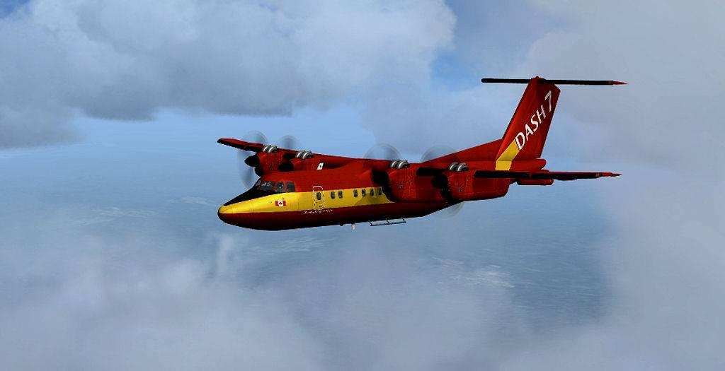 Testflug mit DHC7 1405201410