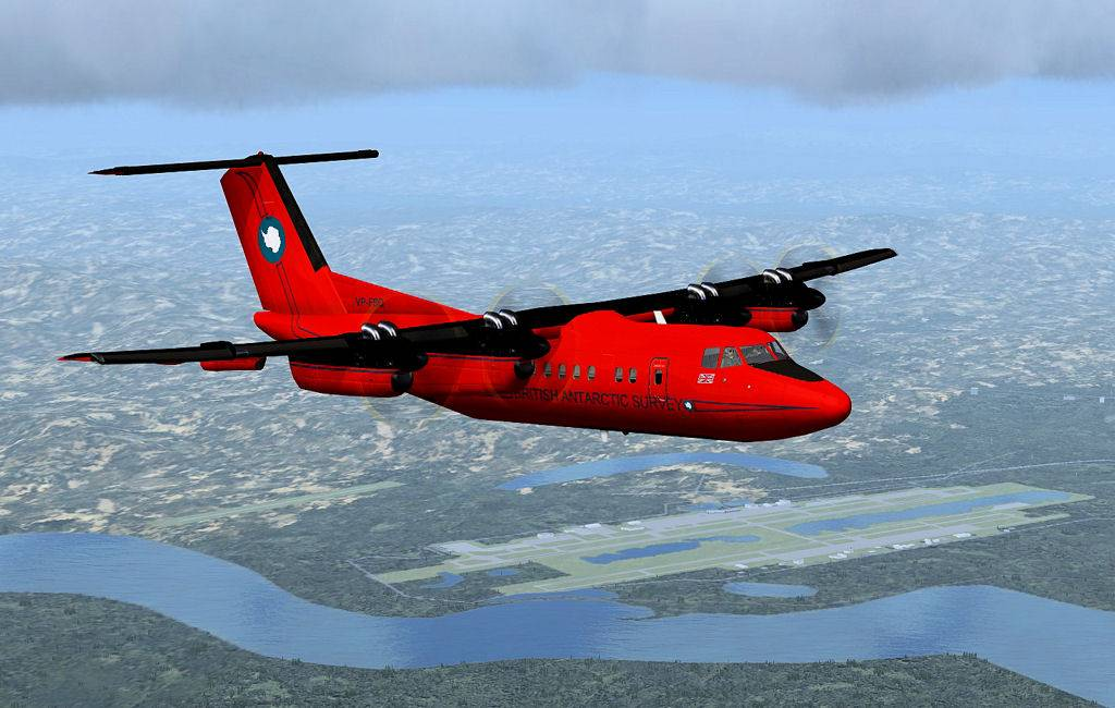 Testflug mit DHC7 1405201413